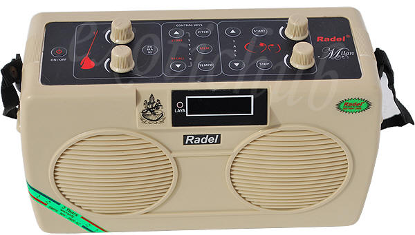 Radel Milan combination tanpura and tabla machine