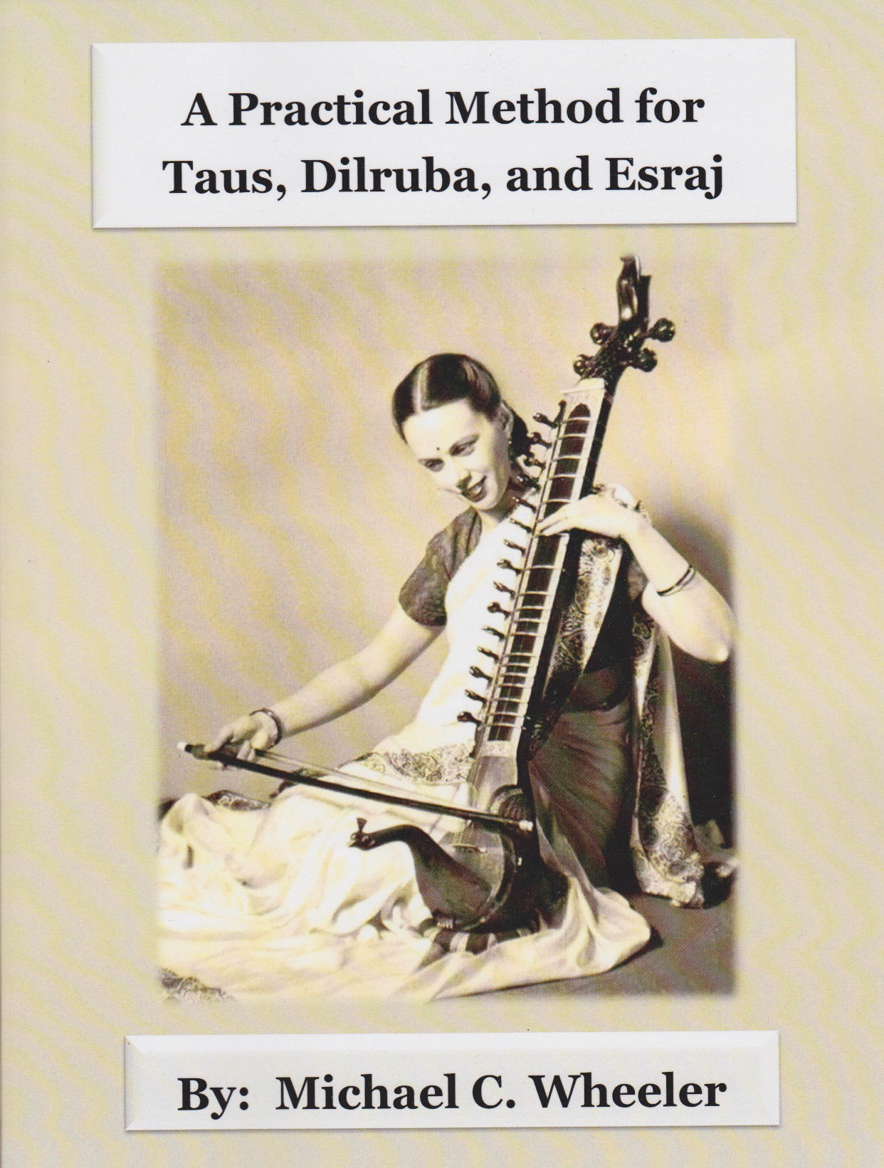 Dilruba Esraj Taus instruction book