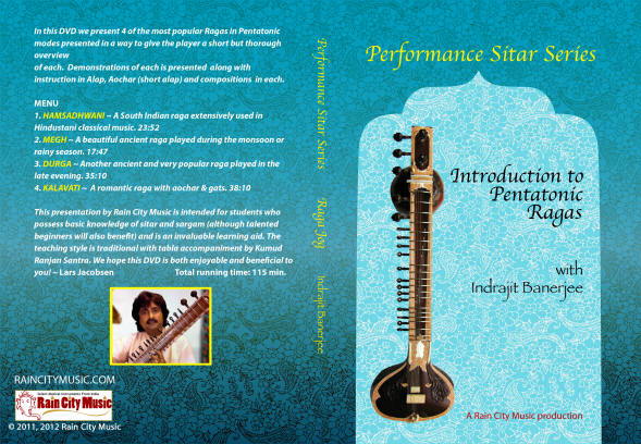 sitar tutor in pentatonic ragas
