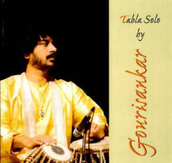 Gourisanakr tabla solo CD